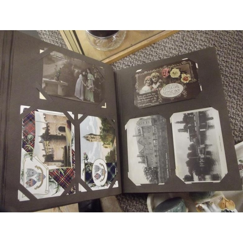 31 - Album of vintage postcards....