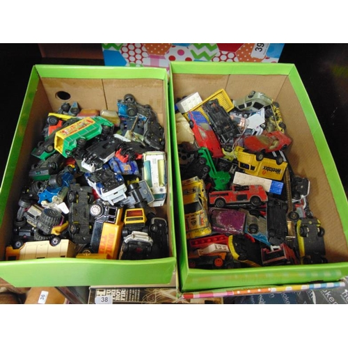 39 - Large collection of unboxed scale model vehicles....