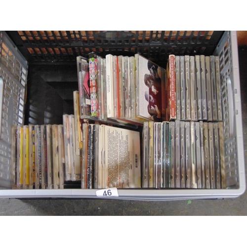 46 - Approx 50 rock CD's....