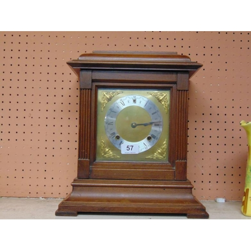 57 - American mantle clock....