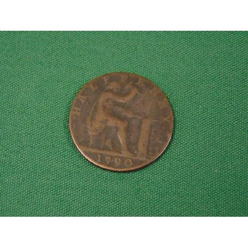 6 - John Wilkinson Ironmaster 1790 Halfpenny....