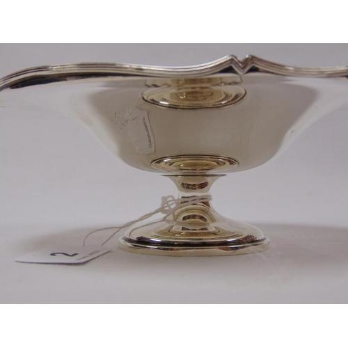 2 - Circular silver comport, Birmingham 1912, 6.25ozs.
