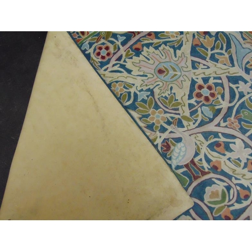 23 - Past Times Indian cotton and wool William Morris style rug, 96 x 60in.