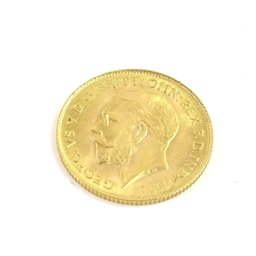 45 - A George V half gold sovereign, dated 1914....