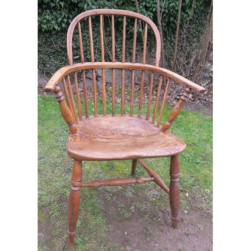 38 - A 19th century Windsor chair