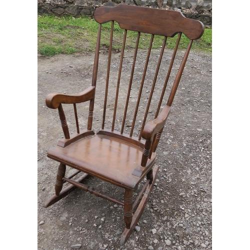 49 - A rocking chair