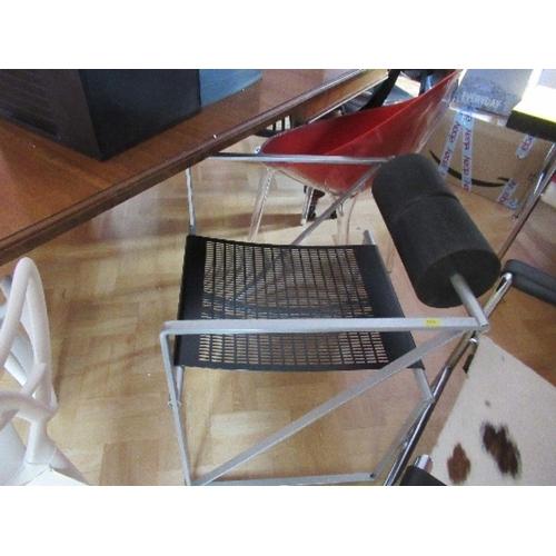 8 - A Seconda style armchair after Mario Botta