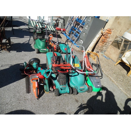 16 - 3 Mowers, Strimmers Etc...