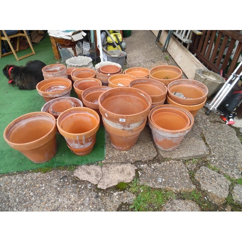59 - LQ Terracotta Pots Etc...