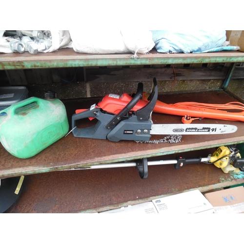 4 - Sovereign petrol chain saw...