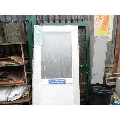 7 - UPVC door...
