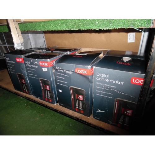 57 - Qty digital coffee makers...