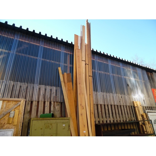 1 - Qty assorted timber...