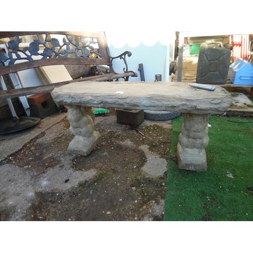 15 - Sqirrel bench...