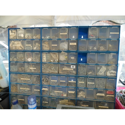 40 - Storage system & contents...