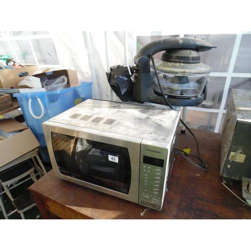 43 - Panasonic combi microwave etc...