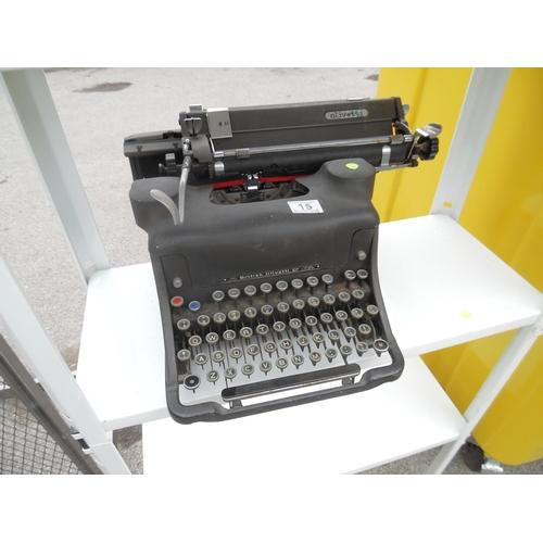 15 - Olivetti type writer...