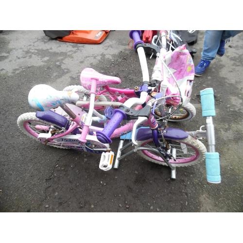 2 - 2 Girls bike & 2 scooters...