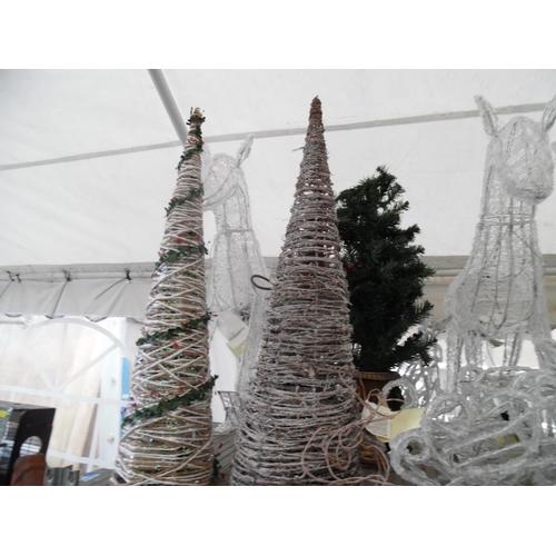29 - Xmas trees, light up reindeer etc...