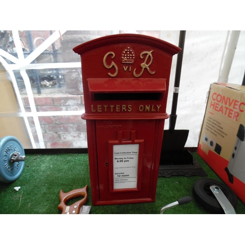 50 - Large GPO Post Box(H29)...