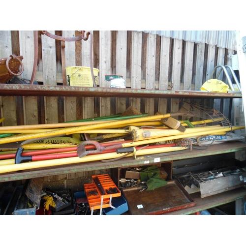 1 - Shelf of tools...