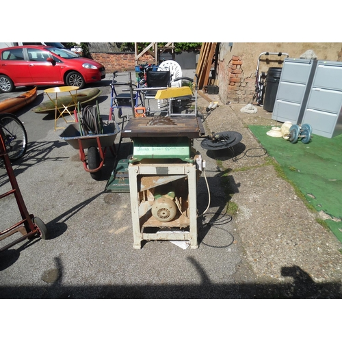 12 - Industrial table saw...