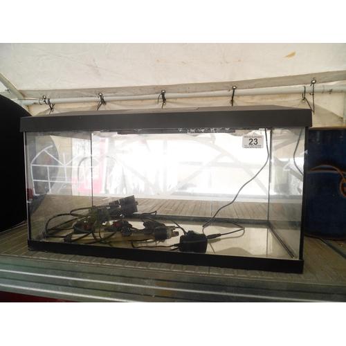 23 - Fish tank...