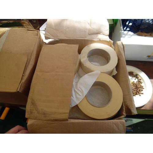 43 - 2 Boxes masking tape...