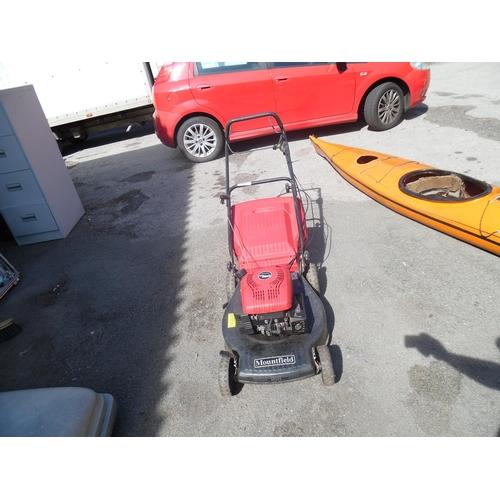5 - Mountfield petrol mower...