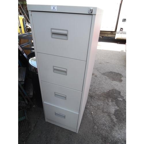 4 - 4 Drawer filing cabinet...