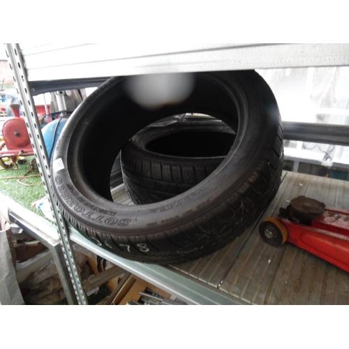 11 - Pair pirelli winter tyres...