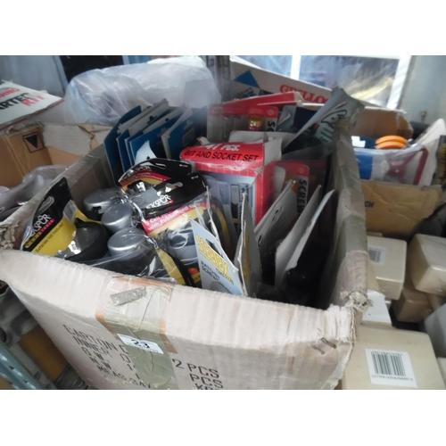 23 - Box of mixed tools...