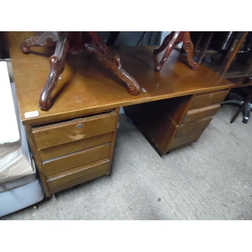 52 - Retro Kneehole Desk...