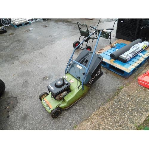 6 - Hayter petrol mower...