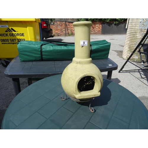 9 - Table Top Chimnea...