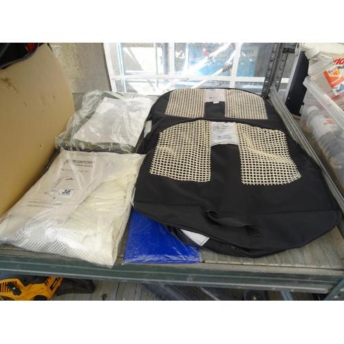 38 - Qty hoist harnesses...