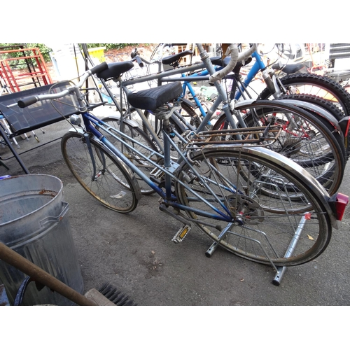 4 - Raleigh bike...