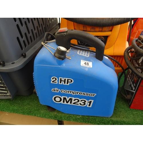 48 - Blue Compressor...