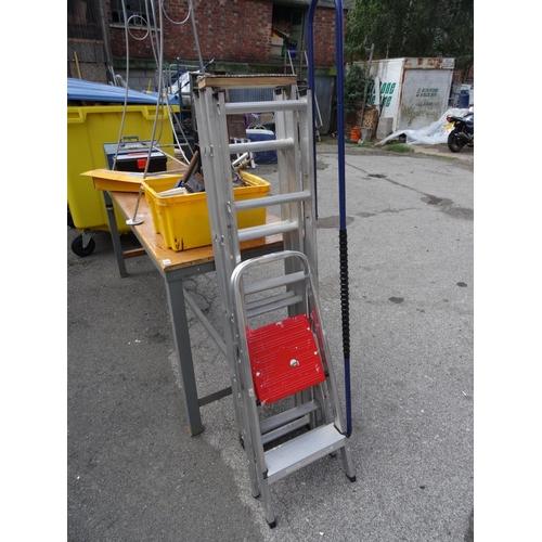14 - Loft ladder & step ladder...