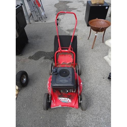 21 - Countax petrol mower...