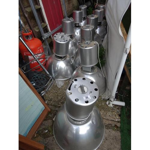 36 - LQ industrial lights...