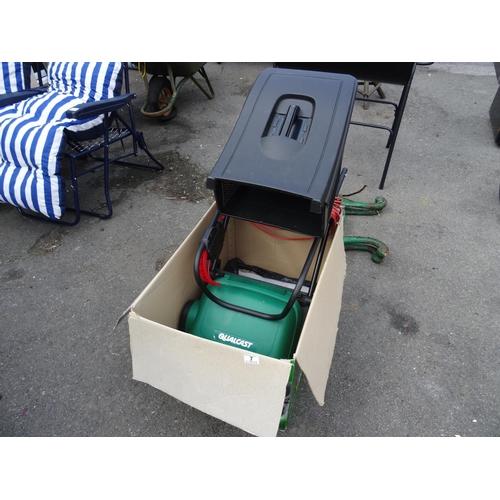 7 - Qualcast electric cylinder mower...