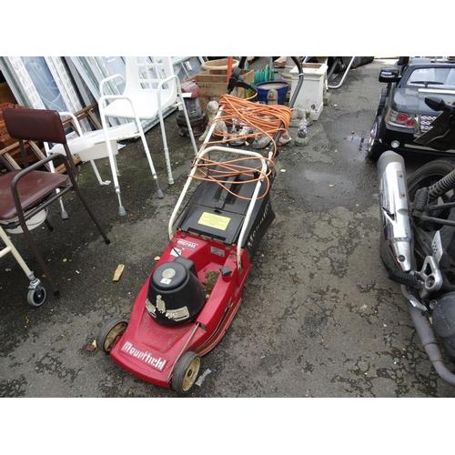 3 - Electric Mountfield Mower...