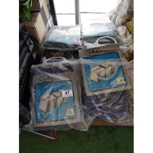 47 - Qty work bags