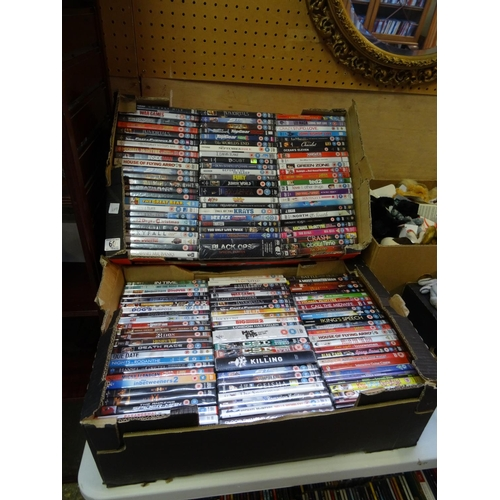 60 - 2 Boxes DVD's