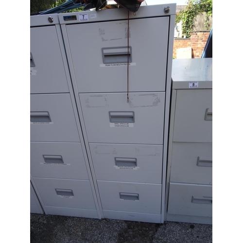 7 - 4 Drawer filing cabinet