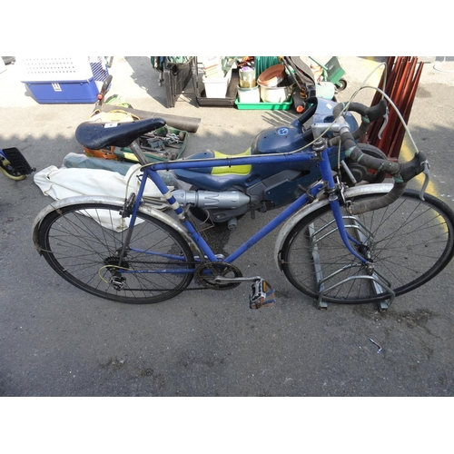 6 - Vintage racing bike...