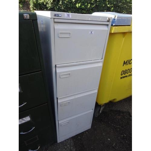 18 - 4 Drawer filing cabinet...