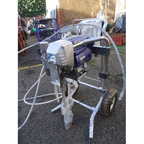 22 - Q-Tech qpo25 paint sprayer...