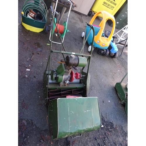 3 - Vintage cylinder mower...
